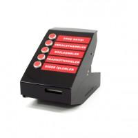 B2 Düğmeli 802.11g WiFi Sıramatik Sistemi